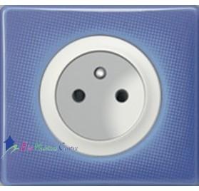Prise 2P+T 16A Legrand Céliane 90's violet 67111+68112+80251+66661
