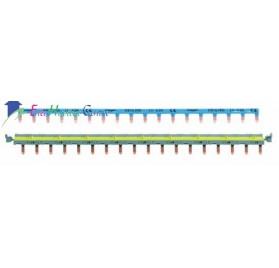 Barre de pontage pour système sanVis 18 modules Hager KBS763G