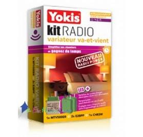 Kit radio variation va et vient power KITRADIOVARVVP Yokis 5454517