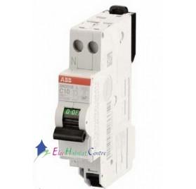 Disjoncteur Ph+H 10A automatique SN201SL ABB 470436