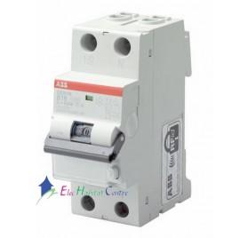 Disjoncteur différentiel Ph+H 16A 30mA à vis DS201L ABB 471013