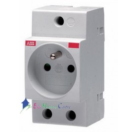 Prise modulaire 2P+T 16A M1174 ABB 420066