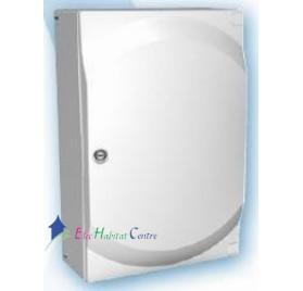 Porte opaque blanche pour coffret 2 rangées 26 modules Galéo ABB 799122