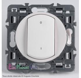 Interrupteur bipolaire 16A Céliane blanc 67020+68021+80251