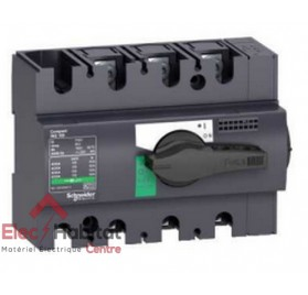 Interrupteur-sectionneur tripolaire 3P125A INS125 Schneider 28910