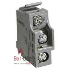 Contact auxiliaire OF ou CAM bas niveau pour interrupteur-sectionneur INS40 à 160 Schneider 29452
