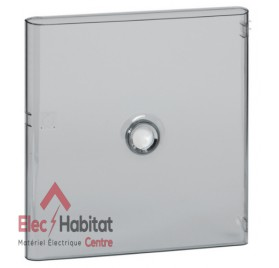 Porte transparente pour coffret électrique 2 rangées de 18 modules Legrand 401242