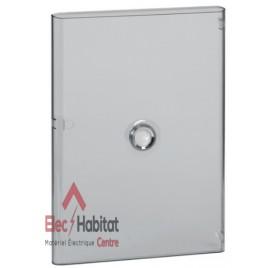 Porte transparente pour coffret électrique 3 rangées de 18 modules Legrand 401243