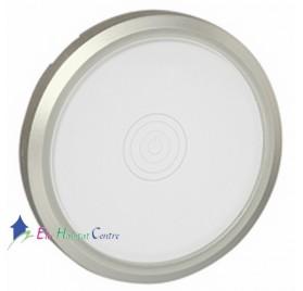 Manette pour interrupteur tactile Céliane titane/verre kaolin Legrand 068341