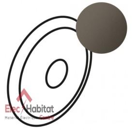 Manette pour interrupteur à effleurement Céliane graphite Legrand 067949