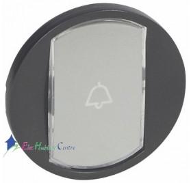 Manette interrupteur, va et vient ou poussoir porte-étiquette Céliane graphite Legrand 067934