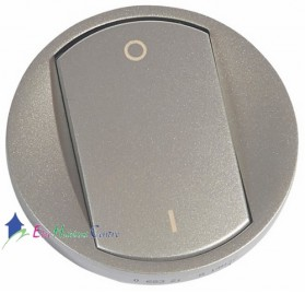Manette interrupteur bipolaire Céliane titane Legrand 068321