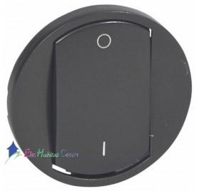 Manette interrupteur bipolaire Céliane graphite Legrand 067921