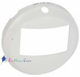 Enjoliveur écodétecteur sans dérogation Céliane blanc Legrand 068299