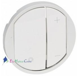 Manette variateur, écovariateur Céliane blanc Legrand 065083