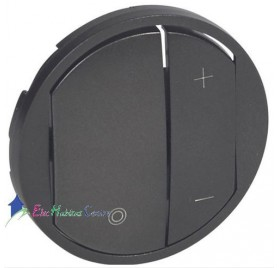 Manette variateur, écovariateur Céliane graphite Legrand 065283