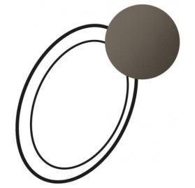 Enjoliveur pour lampe débrochable autonome Céliane graphite Legrand 067968