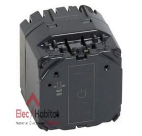 Mécanisme interrupteur/va et vient tactile sans neutre 400w Céliane Legrand 067041