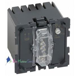 Mécanisme interrupteur temporisé 2 fils sans neutre 1000w Céliane Legrand 067051