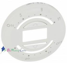 Enjoliveur interrupteur volet roulant avec programmation journalière Céliane blanc Legrand 068159