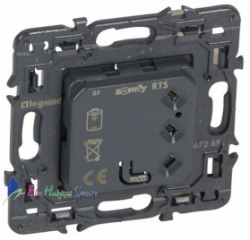 Mécanisme interrupteur individuel radio/RTS Somfy Céliane Legrand 067269