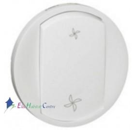 Manette interrupteur VMC Céliane blanc Legrand 068061