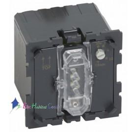 Mécanisme interrupteur éclairage+ventilation retardée Céliane Legrand 067423