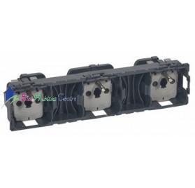 Mécanisme triple prise de courant 2P+T 16A précâblée Céliane Legrand 067126
