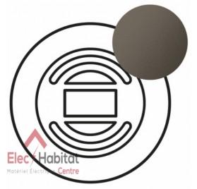 Enjoliveur interrupteur volet roulant avec programmation journalière Céliane graphite Legrand 067959
