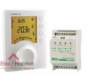Gestionnaire d'énergie 3 zones fil pilote Calybox 230 Delta Dore 6050392