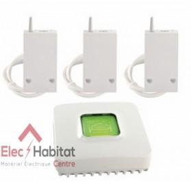 Pack connecté pour chauffage électrique fil pilote PACK RF 6600 FP Delta Dore 6050629