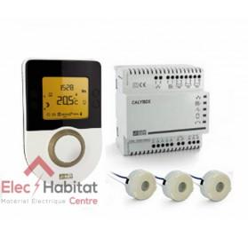 Gestionnaire d'énergie 2 zones+indication de consommations Calybox 1020WT Delta Dore 6050599