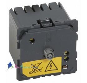 Mécanisme thermostat d'ambiance fil pilote Céliane 230 V Legrand 067410