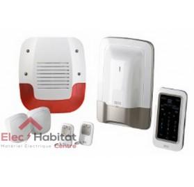 Pack alarme sans fil préconfiguré PACK TYXAL+SIRENE EXTERIEUR Delta Dore 6410176