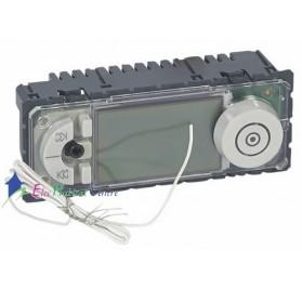 Mécanisme tuner RDS avec écran LCD Céliane Legrand 067326