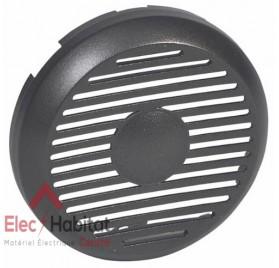 Enjoliveur graphite alimentation pour tuner avec HP intégré Céliane Legrand 067879