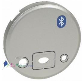 Enjoliveur interface Bluetooth titane Céliane Legrand 068518