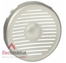 Enjoliveur haut-parleur encastré diamètre 50mm Céliane titane Legrand 068528