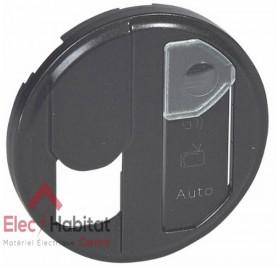 Enjoliveur graphite prise RJ45 STP catégorie 6 avec repérage réseau optimum Céliane Legrand 067990
