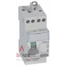 Inter différentiel 2P25A 300mA type AC Vis/Vis Legrand 411613