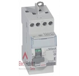 Inter différentiel 2P40A 300mA type AC Vis/Vis de marque Legrand, référence 411614