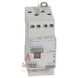Inter différentiel 2P25A 30mA type A Vis/Vis Legrand 411616