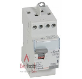 Inter différentiel 2P40A 30mA type HPI Vis/Vis Legrand 411623