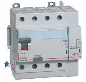 Interrupteur différentiel 4P63A 30mA type AC Vis/Auto Legrand 411653