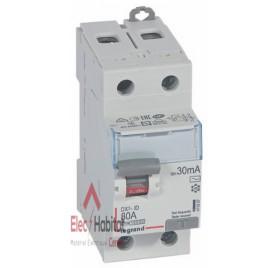 Inter différentiel 2P80A 30mA type AC Vis/Vis Legrand 411507