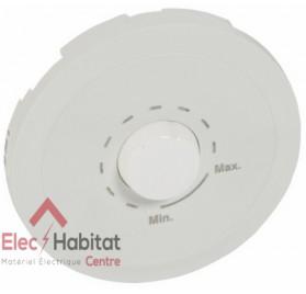 Enjoliveur blanc atténuateur de ligne 100v, 25w Céliane Legrand 068208