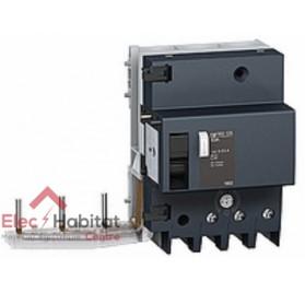 Bloc différentiel Vigi NG125 3P125A sensibilité réglable de 300 à 3000mA type A Schneider 19047