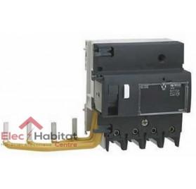 Bloc différentiel Vigi NG125 4P125A sensibilité réglable de 300 à 3000mA type A Schneider 19048