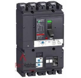 Disjoncteur vigicompact MH NSX160F Micrologic 2.2AB 4P4D Schneider LV434573