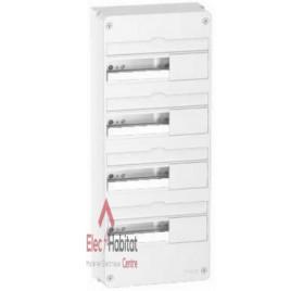 Coffret électrique Resi9, 3 rangées 13 modules Schneider R9H13404